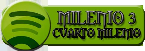 Spotify: canciones de Milenio3/Cuarto Milenio - Entre píxeles y páginas
