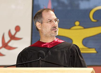 Steve Jobs en la conferencia de la Universidad de Stanford